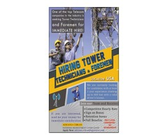 TOWER CLIMBER TECH. AND FOREMEN