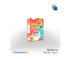 Get 40% Discount on custom cereal box Wholesale