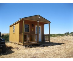 13 acres with shed cabin  Goldendale WA