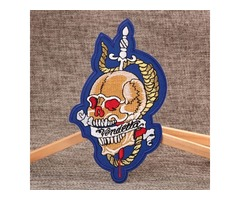 Custom Patches | Fashion Skull Custom Patches  | GS-JJ.com ™ | 40% off