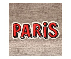 PARIS Custom Patches For Clothes