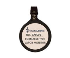 Formaldehyde Monitoring Badges