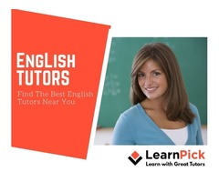 Experienced Online/Offline English Tutors for all grades
