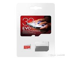 2019 EVO 100% REA h2testw 8GB 16GB 32GB 64GB 128GB NEW Genuine EVO Plus Micro SD SDHC UHS-I Class 10
