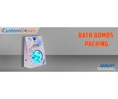 Get suiteable designs Bath bomb boxes Wholesale