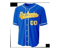 Design Custom Sublimated Baseball Jerseys