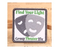 Find Your Light Custom Patches   As low as 40% Off   GS-JJ ™