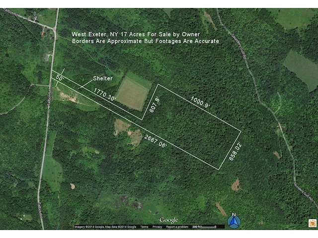 17 Acres Pvt Hunting Land FSBO - (Talbot Rd., West Exeter, NY) | free-classifieds-usa.com