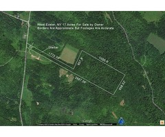 17 Acres Pvt Hunting Land FSBO - (Talbot Rd., West Exeter, NY)