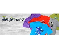 Select your favorite tee Styles from Brands Brisco Apparel