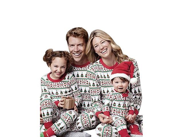 Christmas Family Pajamas Set.Childrenadultmatchingfamilypajamassetschristmasfamilypajamassetoutfit