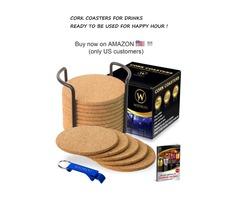 Drink Coasters - Bar Tools - Home Decoration - Kitchen Decor Ideas