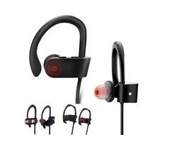 DXVROC Bluetooth Headphones Headset Mic Earphones Wireless Sports Headphone IPX7 Sweatproof Heavy Ba
