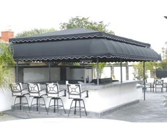 trusted provider of custom-made awnings for homes and businesses