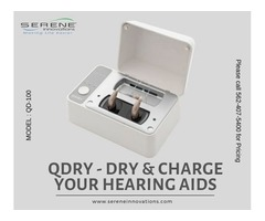 Dry & Charge Your Hearing Aid Simultaneously