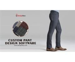 Change Business Model with iDiB's Pant Customization Software