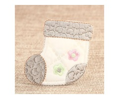 Custom Patches   Baby Shoes Custom Embroidered Patches   Lowest 40% off