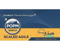 Scaled Agile Framework – (POPM) | Certification and Exam Information | Scrum Stubs