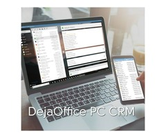 Download DejaOffice PC CRM Standalone Today