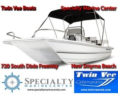 Twin Vee PowerCats at Specialty Marine Center