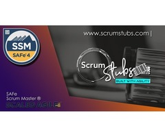 Scaled Agile Framework – (SSM) | 2day Classroom Training |SAFe | Scrum Stubs