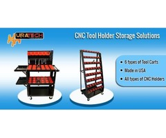 CNC tool holder storage solutions