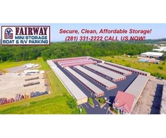 Avail Affordable and Secure off-site Storage Facilities in Alvin, Texas?