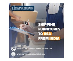 Shipping Furnitures to USA