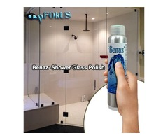 Cleaner for Glass Shower Doors & Water Stain Remover