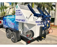 Trash Can Cleaning System – Trailer Dual Grabber (SB2)