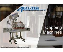 Capping Machines | Accutek Packaging