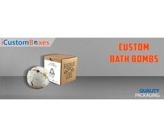 We provide High-Quality Custom bath bomb packaging Wholesale