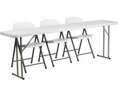 Purchase Plastic Folding Training Table Online