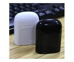 Bluetooth Headphones I7 I7S TWS Twins Earbuds Mini Wireless Earphones Headset with Mic Stereo V5.0 f
