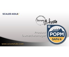 Product Owner Product Manager | POPM® | ScrumStubs | Scaled Agile