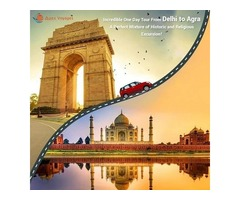 Get the Same Day Tour Package from Delhi to Agra - Apex Voyages
