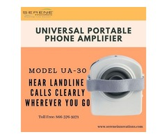 Buy Universal Portable Phone Amplifier by Serene Innovations