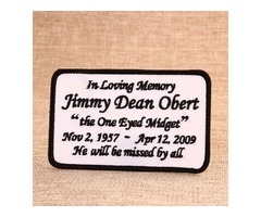 Jimmy Dean Obert Custom Patches Online | As low as 40% Off | GS-JJ ™