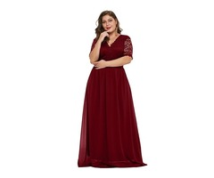 Perfect Quality Women Plus Size Party Maxi Dresses Evening Dress