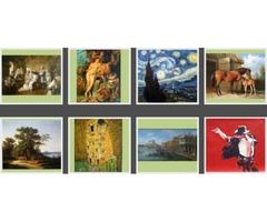 Oil Paintings Reproduction - 100% Handmade