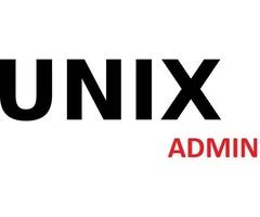 unix admin