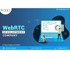 A pre-eminent WebRTC application development company