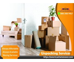 professional unpacking service company