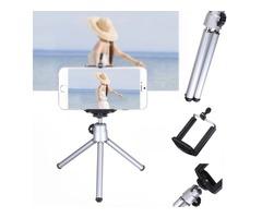 360 Rotatable Mini Stand Tripod Mount Phone Holder