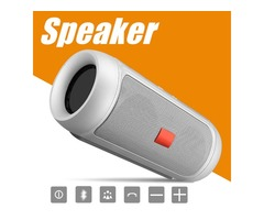 Speakers Bluetooth Subwoofer Speaker Wireless Bluetooth Mini Speaker Charge 2+ Deep Subwoofer Stereo