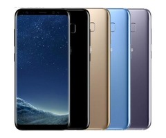 Unlocked Original Samsung Galaxy S8 4GB RAM 64GB ROM Single Sim Octa Core 5.8-inch display android F