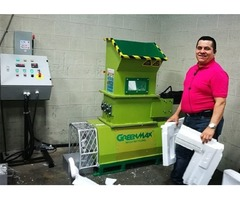 Foam recycling machine GREENMAX Mars C100