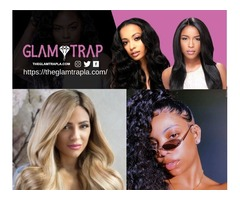 Get a Flawless, Natural Look with The Glam Trap LA's Human Hair Wigs.
