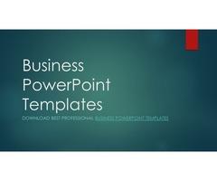 Business Presentation PowerPoint Templates at Slide Bazaar