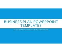 Business Plan PowerPoint Templates at Slide Bazaar